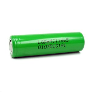 Bateria 18650 Li-Ion 18650 MJ1 3.6V 3500mAh High Drain 10A Flat Top - LG