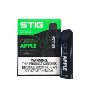 Pod System Descartável (Disposable Pod Device) Stig - Crisp Apple - Vgod