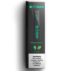 Pod System Descartável (Disposable Pod Device) Tobacco Menthol - Nikbar