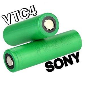 Bateria (18650) 2100mAh VTC4 Flat Top 30A High-Drain - Sony