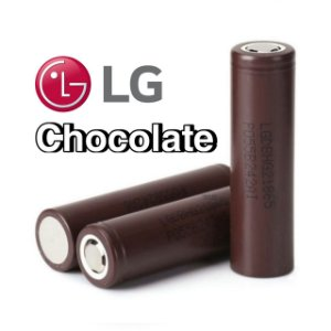Bateria (18650) 3000mAh Flat Top 20A (Chocolate) High-Drain - LG