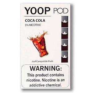 Pod c/ Líquido Coca Cola p/ Pod System Yoop & Juul - Yoop