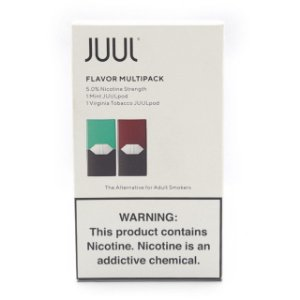 Pod c/ Líquido Mint & Virginia Tobacco p/ Pod System Yoop & Juul - Juul