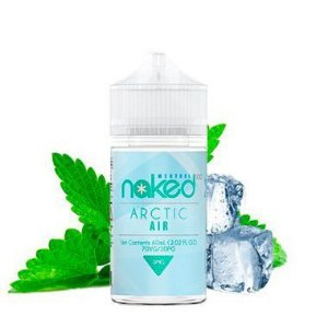 Líquidos Arctic Air (Menthol)  - Naked 100