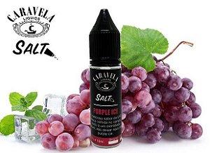 Líquido Purple Ice - SaltNic / Salt Nicotine - Caravela