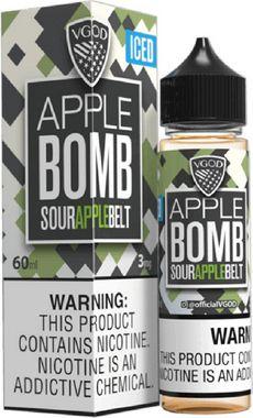 Líquido Apple Bomb Iced - Vgod