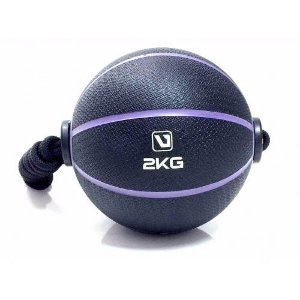 Medicine Ball Com Corda  2kg Live UP