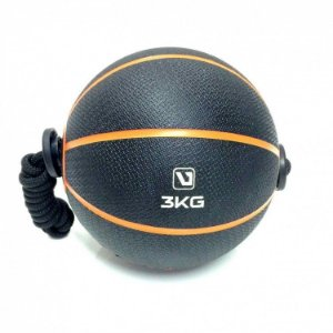 Medicine Ball 3kg com Corda Live UP