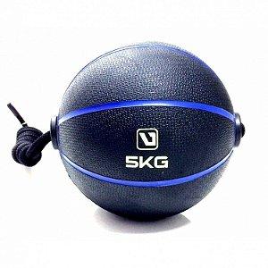 Medicine Ball 5kg com Corda Live UP