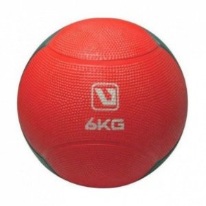 Medicine Ball  6kg Vermelha Live UP