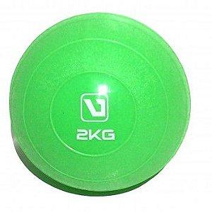 SOFT BALL - Mini Bola para Exercício  2KG Verde