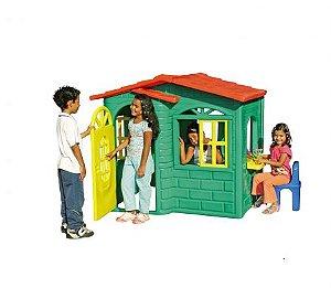 Casinha de criança Mundo Azul Doçura  para PLayground