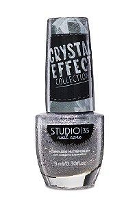 LANÇAMENTO - Esmalte Fortalecedor Studio 35 Cristal Effect 9 ml #luadecristal