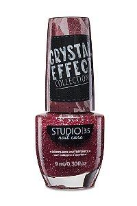 LANÇAMENTO - Esmalte Fortalecedor Studio 35 Cristal Effect 9 ml #sensualizando