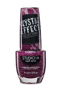 LANÇAMENTO - Esmalte Fortalecedor Studio 35 Cristal Effect 9 ml #lindoquedoi