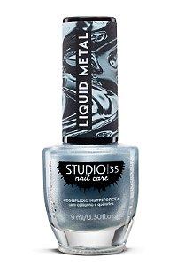 Esmalte Fortalecedor Studio 35 - 9 ml - Linha Liquid Metal Cor #Cometa Halley