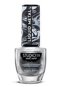 Esmalte Fortalecedor Studio 35 - 9 ml - Linha Liquid Metal Cor #estrelacintilante