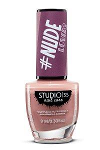 Esmalte Fortalecedor Studio 35 - 9 ml - Nude #meiguinha