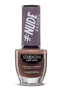 Esmalte Fortalecedor Studio 35 - 9 ml - Nude #mocaccino