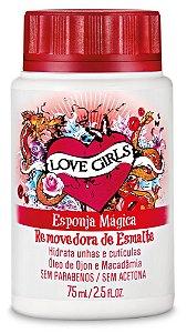 Removedor de Esmaltes Love Girls 75 ml Ojon e Macadamia - Sexy Cosmetics