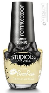 Esmalte Fortalecedor Studio 35 by Boca Rosa 14 ml #creminhomaravilha - 10 (Cremoso)