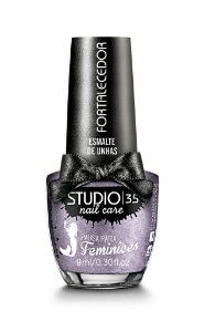 Esmalte Fortalecedor Studio 35 by Pausa para Feminices 9 ml - #lumina (cristal effect)