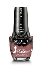 Esmalte Fortalecedor Studio 35 by Pausa para Feminices 9 ml 1 - #siren (cremoso)