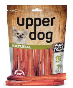 Pixie Bully Sticks 100% natural Upper Dog
