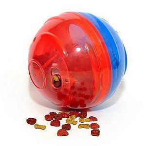 Comedouro e brinquedo Pet Ball (para ração seca)