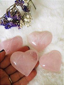 Quartzo Rosa - Coração