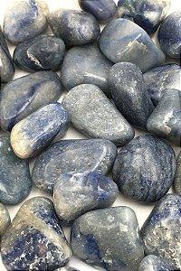 Quartzo Azul - Pedra Rolada - Valor por unidade
