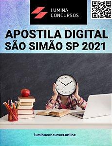 Apostila PREFEITURA DE SÃO SIMÃO SP 2021 Professor de Ensino Fundamental III Inglês
