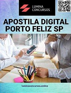 Apostila PREFEITURA DE PORTO FELIZ SP 2021 PEB II Infantil