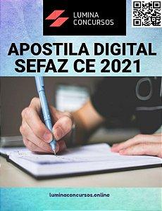 Apostila SEFAZ CE 2021 Auditor Fiscal de Tecnologia da Informação da Receita Estadual