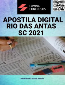 Apostila PREFEITURA DE RIO DAS ANTAS SC 2021 Agente de Endemias