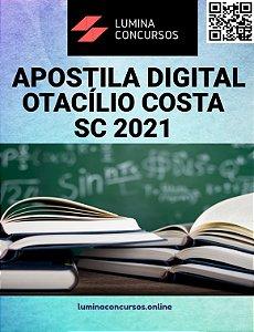 Apostila PREFEITURA DE OTACÍLIO COSTA SC 2021 Nutricionista