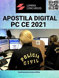 Apostila PC CE 2021 Inspetor de Polícia Civil