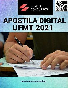 Apostila UFMT 2021 Técnico de Laboratório Química
