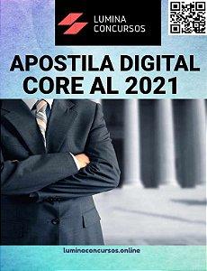 Apostila CORE AL 2021 Auxiliar Administrativo