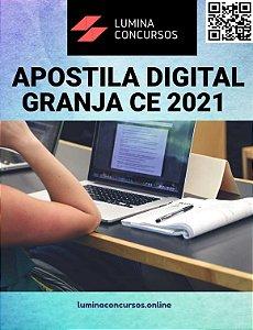 Apostila PREFEITURA DE GRANJA CE 2021 Professor de Geografia