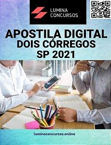Apostila PREFEITURA DE DOIS CÓRREGOS SP 2021 Contador