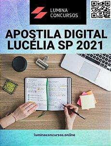 Apostila PREFEITURA DE LUCÉLIA SP 2021 Controlador Interno