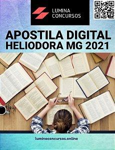 Apostila PREFEITURA DE HELIODORA MG 2021 Técnico de Enfermagem