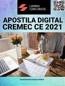 Apostila CREMEC CE 2021 Analista de Recursos Humanos
