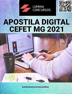 Apostila CEFET MG 2021 Arquiteto e Urbanista