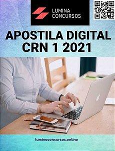 Apostila CRN 1 2021 Nutricionista Assessor Técnico