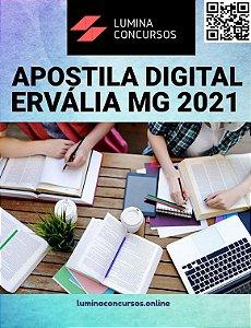 Apostila PREFEITURA DE ERVÁLIA MG 2021 Pedagogo Caps