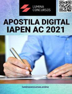 Apostila IAPEN AC 2021 Auxiliar Administrativo