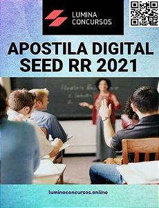 Apostila SEED RR 2021 Professor de Artes