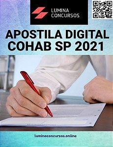 Apostila COHAB SP 2021 Técnico em Contratações